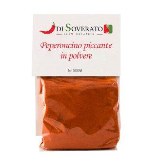 Peperoncini in polvere di Soverato